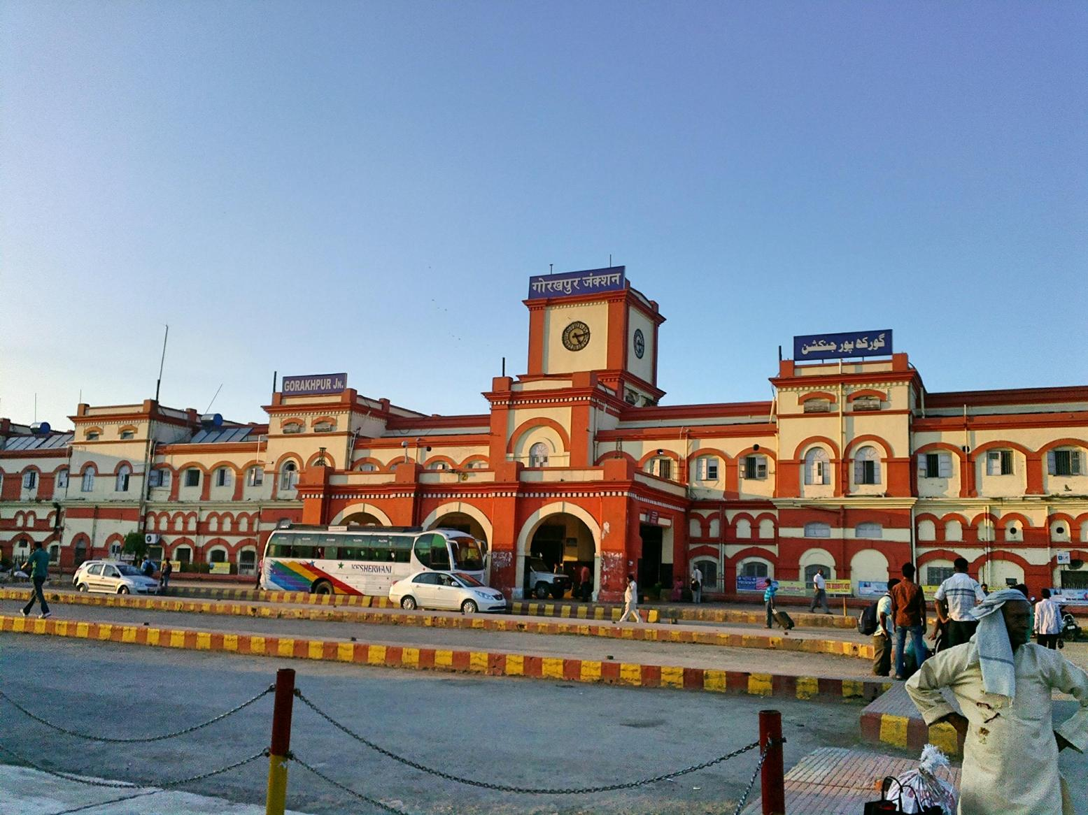 gorakhpur junction  u2013 gaurav tiwari