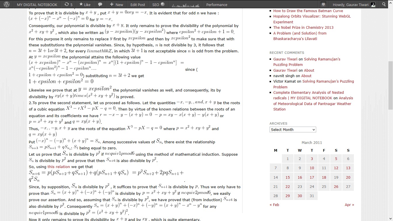 Screenshot 29 MY DIGITAL NOTEBOOK is now using MathJax