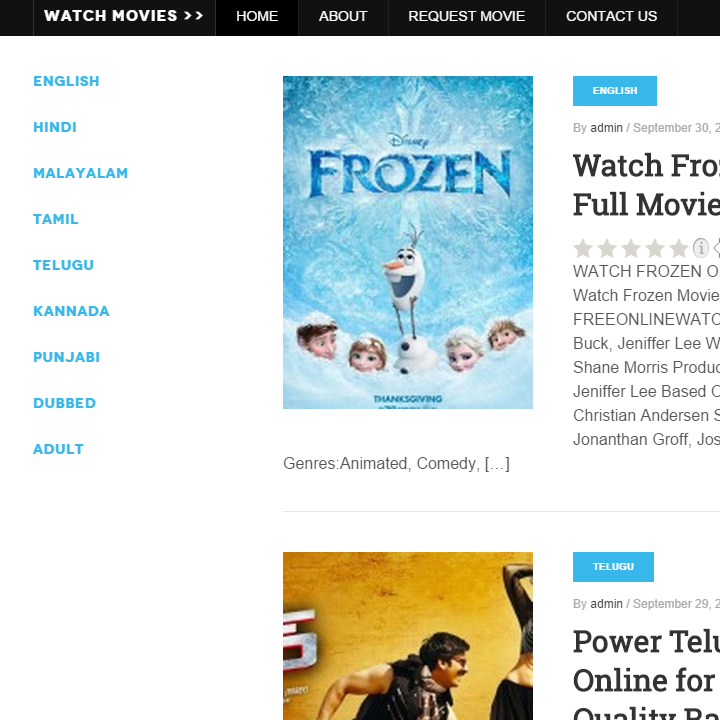 Free Online Watch Movies