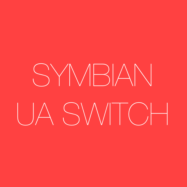 symbian ua switch