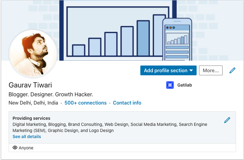 LinkedIn for career development, Image, Gaurav Tiwari