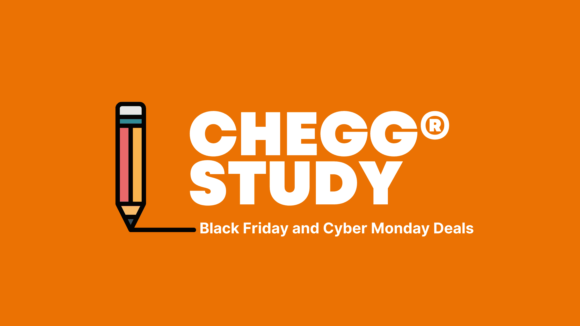 Chegg Study Black Friday deals in 2021