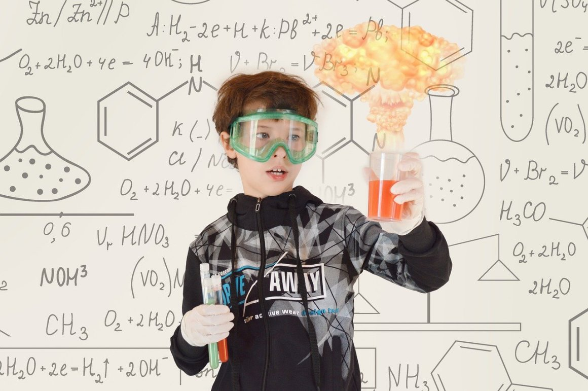 chemistry, baby, experiment, chemical reactions, lab experiment