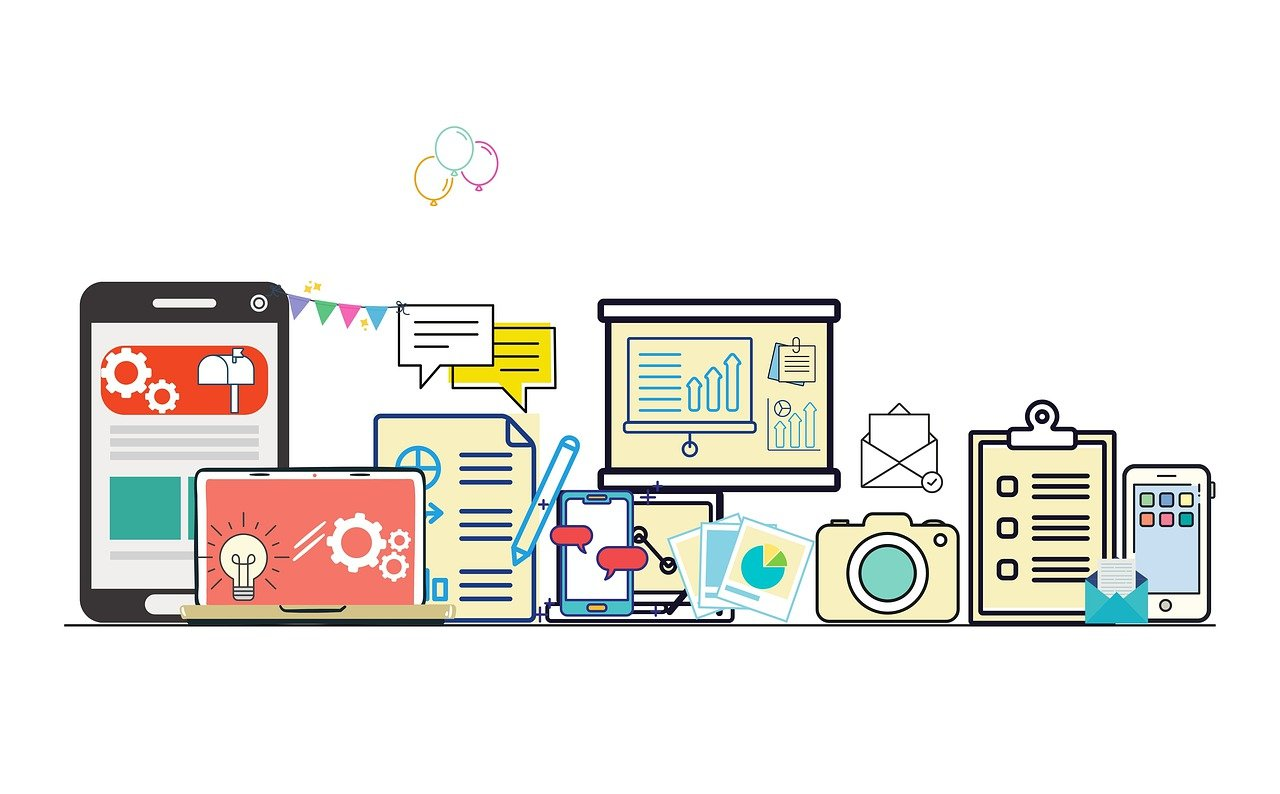 Communication, technology, internet, how to pick the best web design tools?