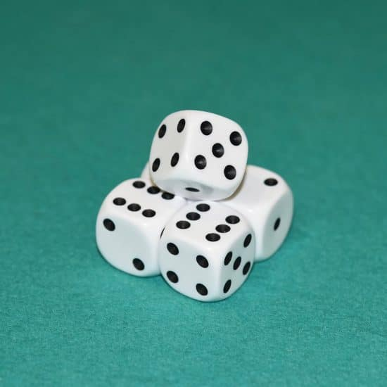 of, dice game, statistics