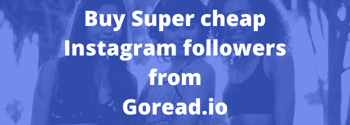 Goread.io — a great GetInsta Alternative