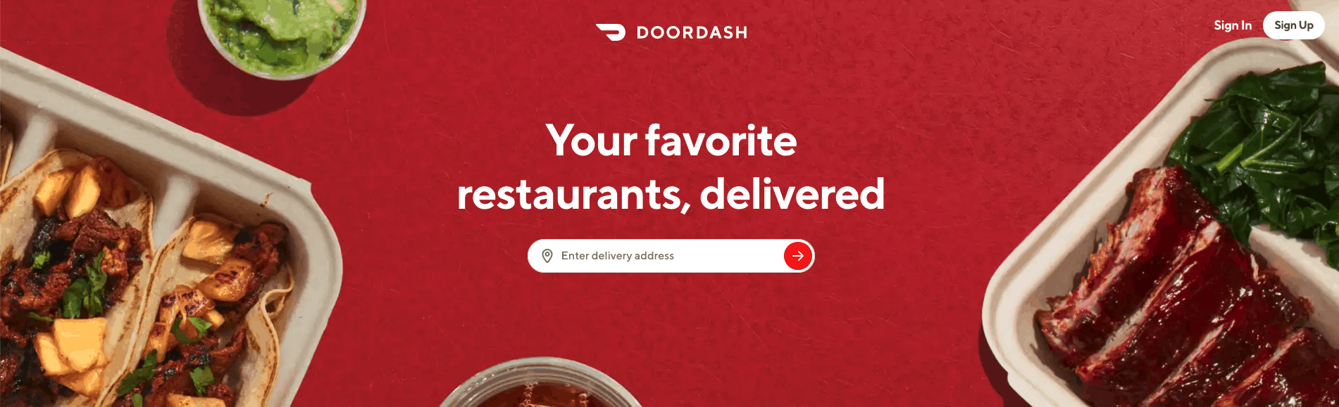 Doordash Top 10 On-Demand Service Apps