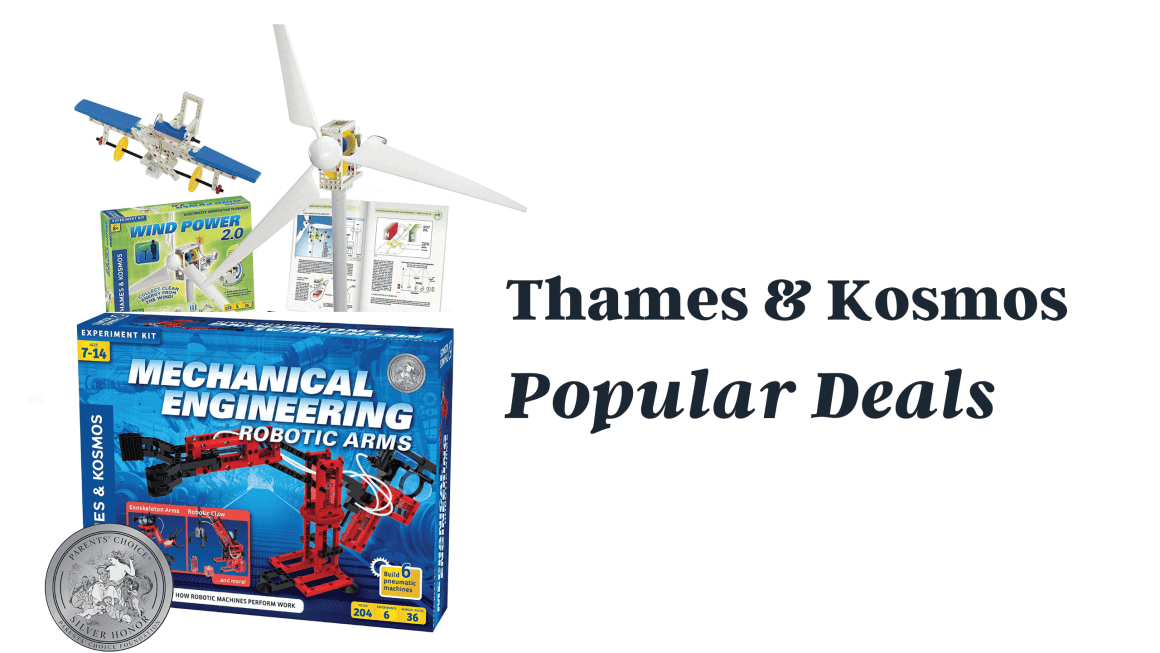 Thames & Kosmos Learning and Technology toys Preview
