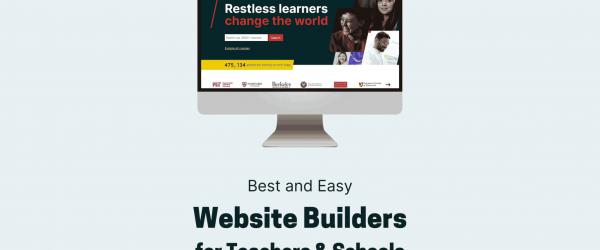 Website Builders for Teachers & Schools