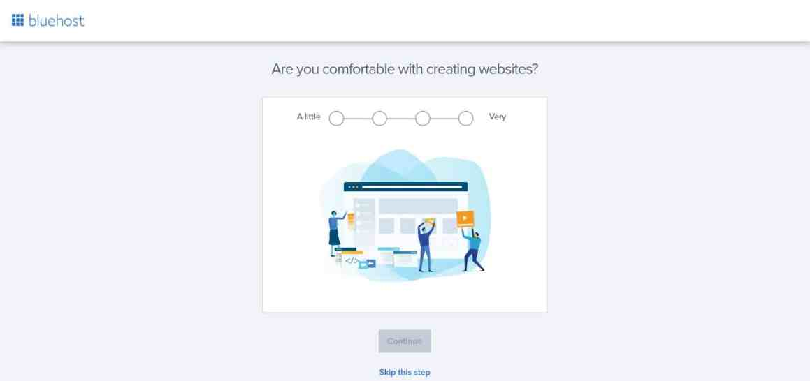 Create a Business Website with Bluehost and WordPress Step 8