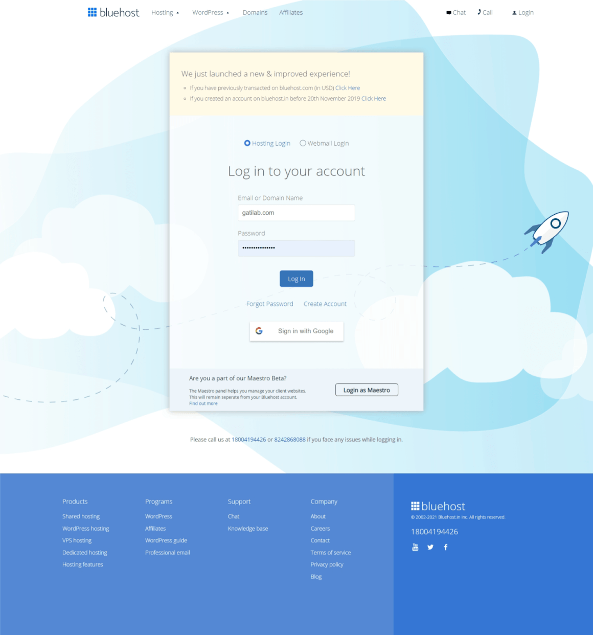 Create a Business Website with Bluehost and WordPress Step 4
