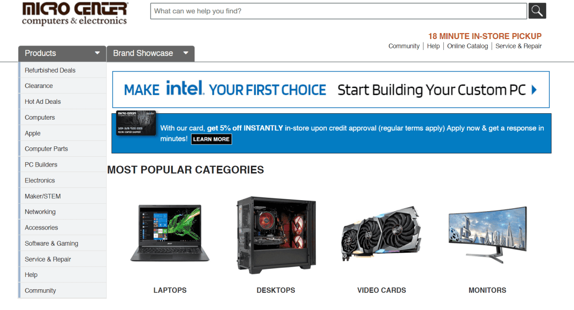 Micro center black friday 2021 ad, deals and sales