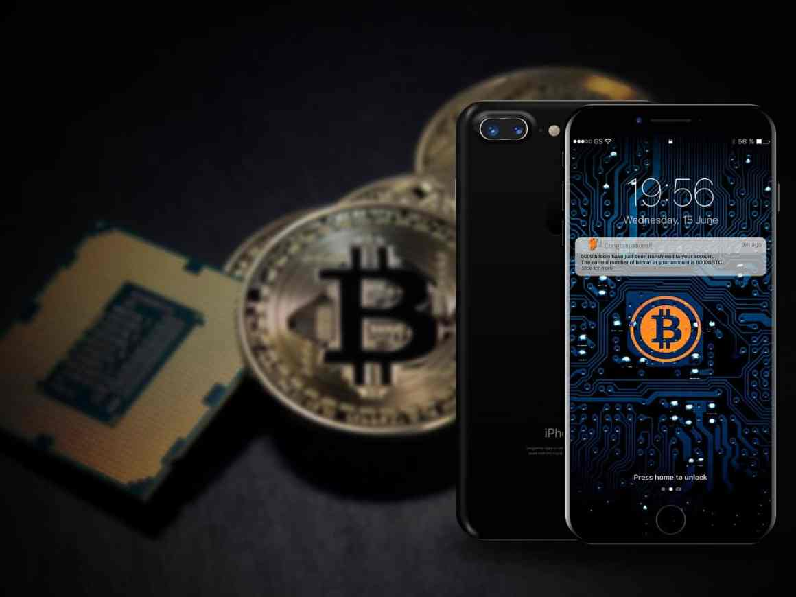 iphine 8, bitcoin, technology