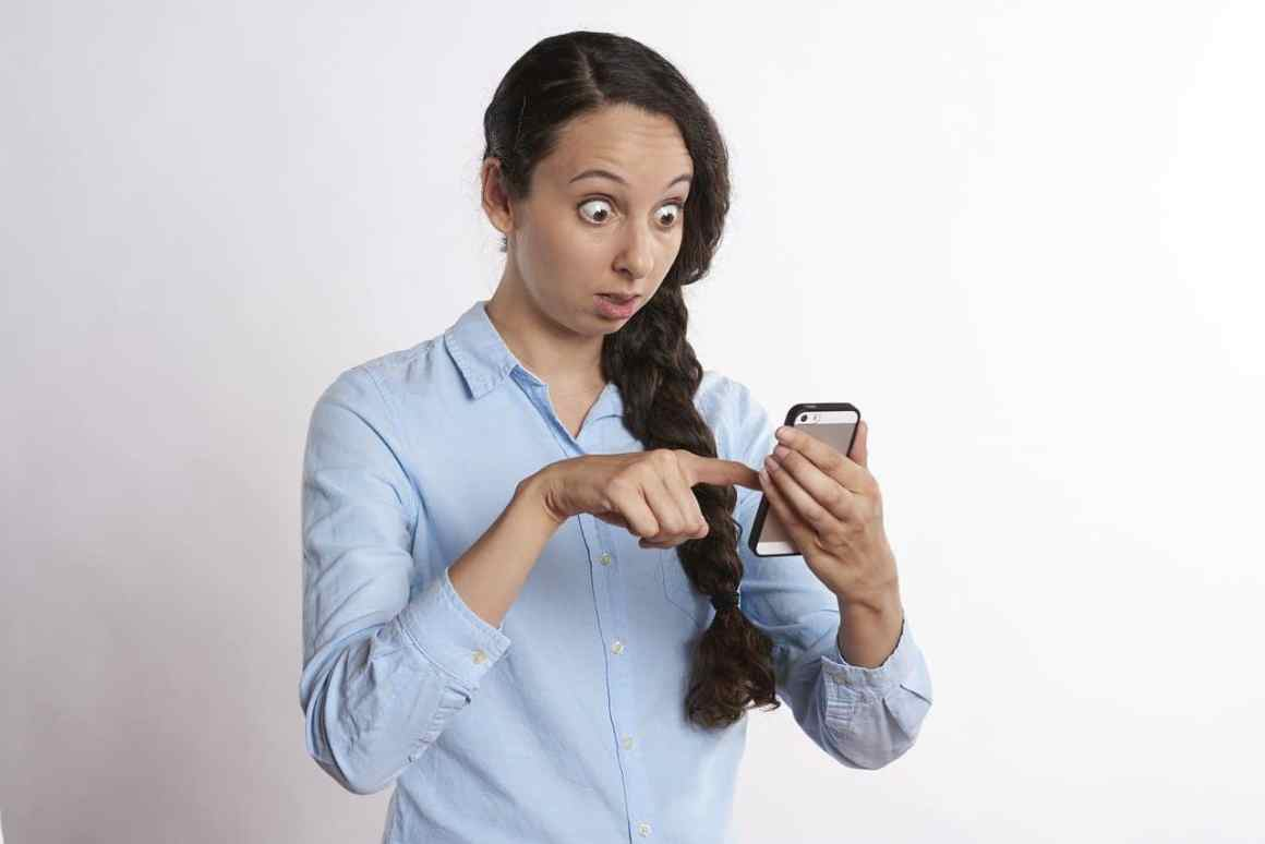 woman surprised that her website is down