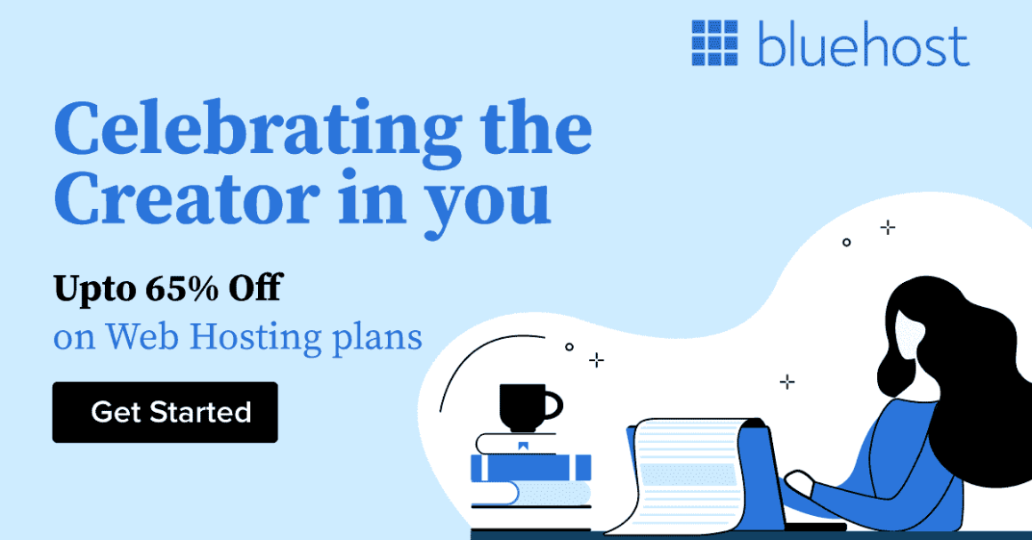 Bluehost Creator in You — Bluehost Hosting Sale