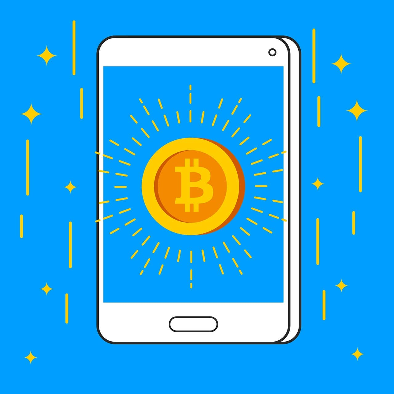 bitcoin, currency, money