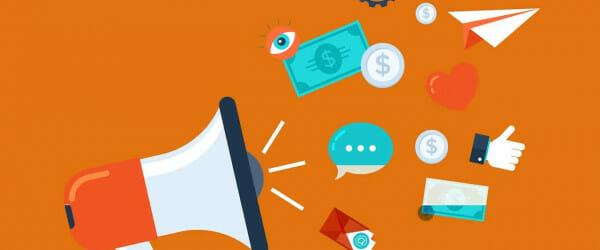 marketing, social media, megaphone