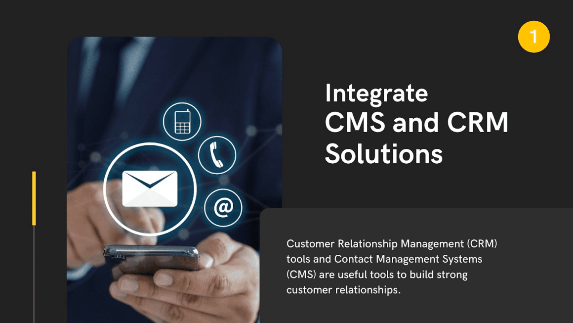 SaaS Integrate CMS and CRM Solutions