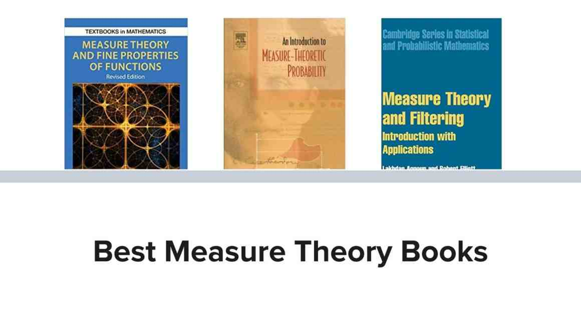 Best measure theory books