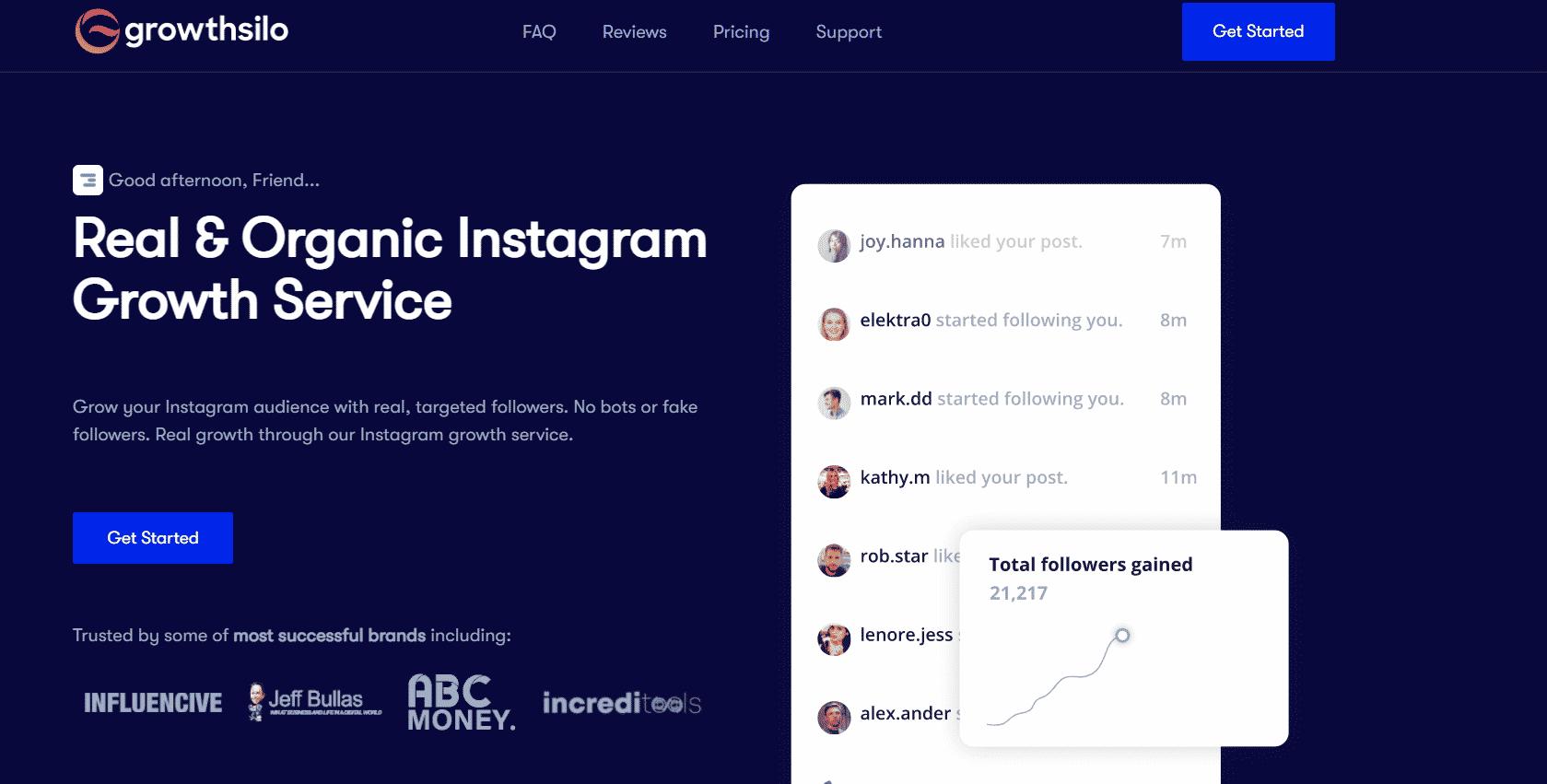 Best instagram growth services growthsilo