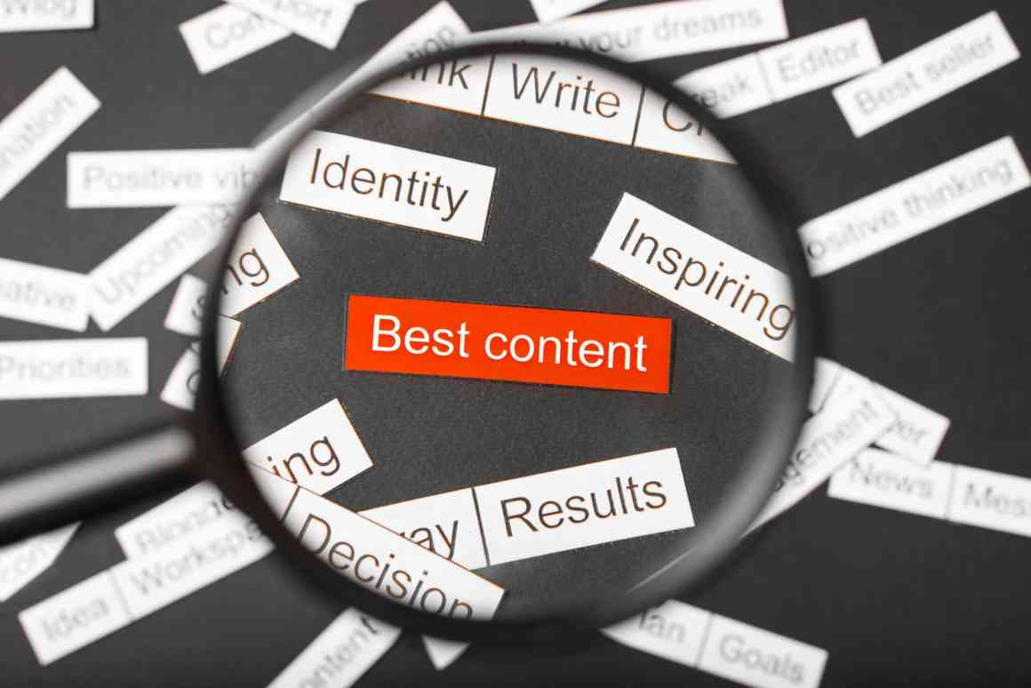 Value of content marketing plan